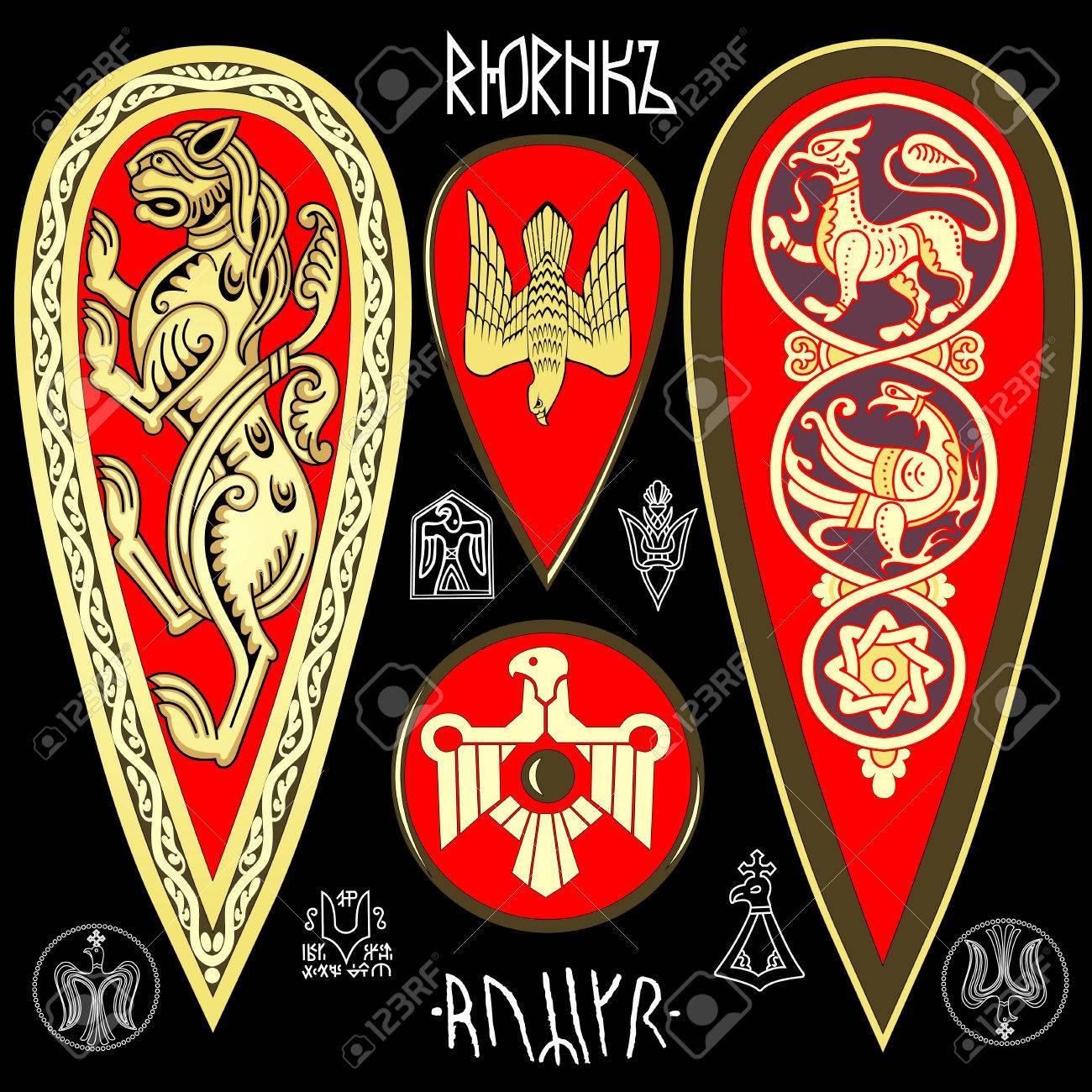 King Rurik symbolics set - 69356764