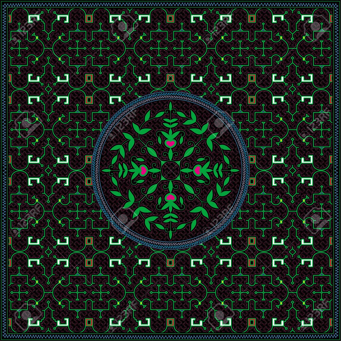 1 of 12 Shipibo Conibo artwork patterns HD set - 160579504