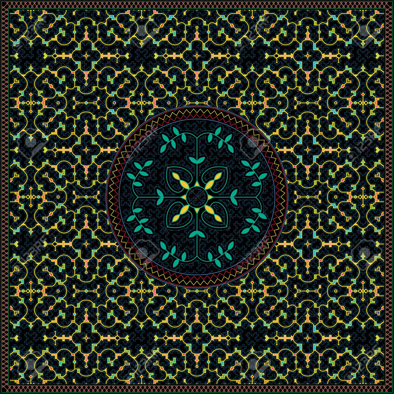 12 of 12 Shipibo Conibo artwork patterns HD set - 160578806