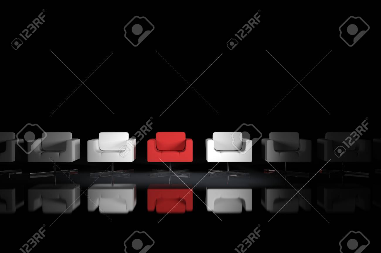 One of the many armchairs Stock Photo - 7497897
