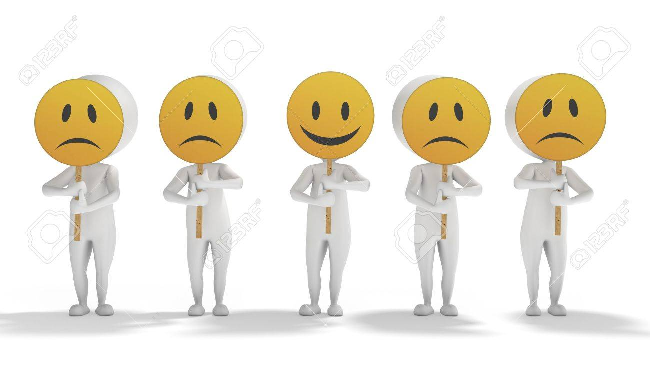 3d white human aligned with emoticon symbols on face on a white 3d white human aligned with emoticon symbols on face on a white background stock photo biocorpaavc Images