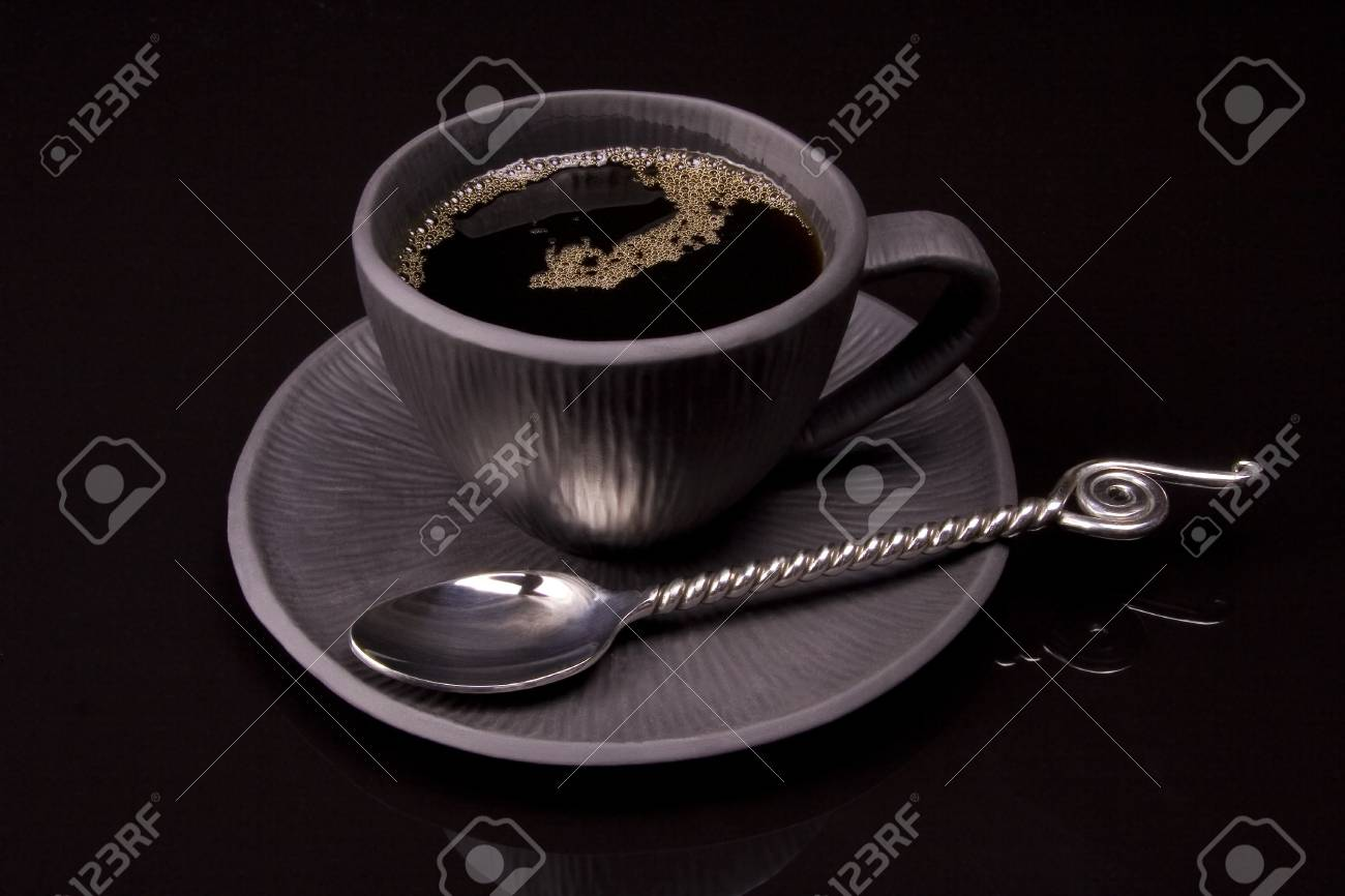 Close up of hot drink in a mug Stock Photo - 6140005