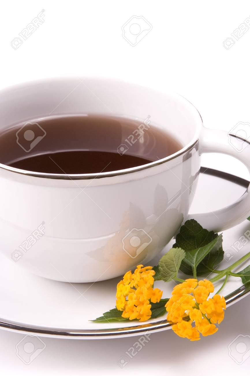 Close up of hot drink in a mug Stock Photo - 6140011