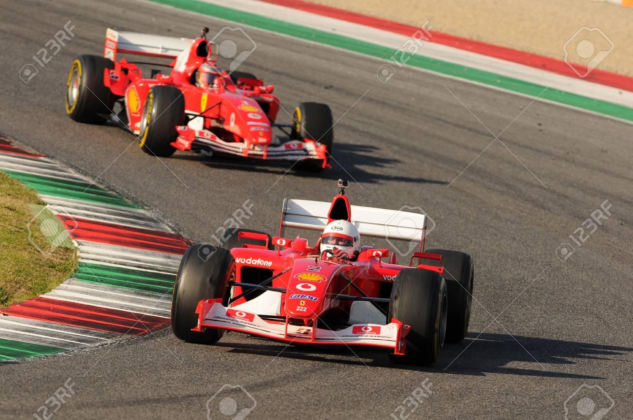 Circuito Del Mugello : Mugello it novembre 2015: corsa sconosciuta con la ferrari f1 nel