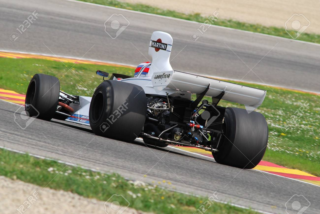 Mugello Circuit 1 April 2007: Unknown Run On Classic F1 Car 1975 ...