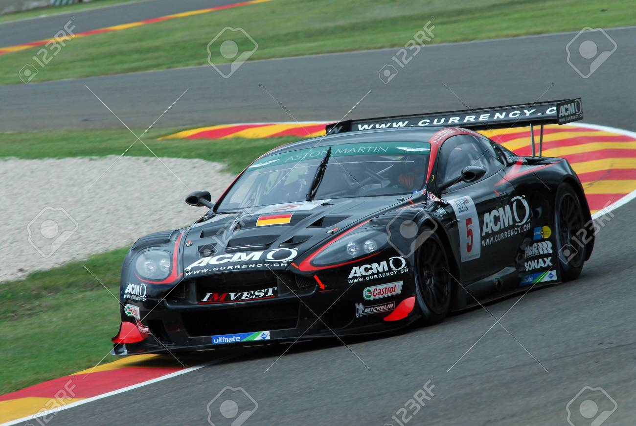 15 September 2006 5 Aston Martin Dbr9 Gt1 Of Phoenix Racing Stock Photo Picture And Royalty Free Image Image 101162008