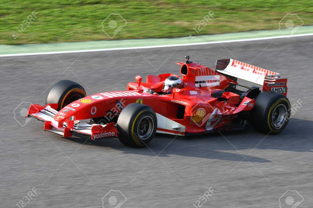 Mugello Circuit 24 October 2019 Ferrari F1 Model F2005 Year Stock Photo Picture And Royalty Free Image Image 135605461