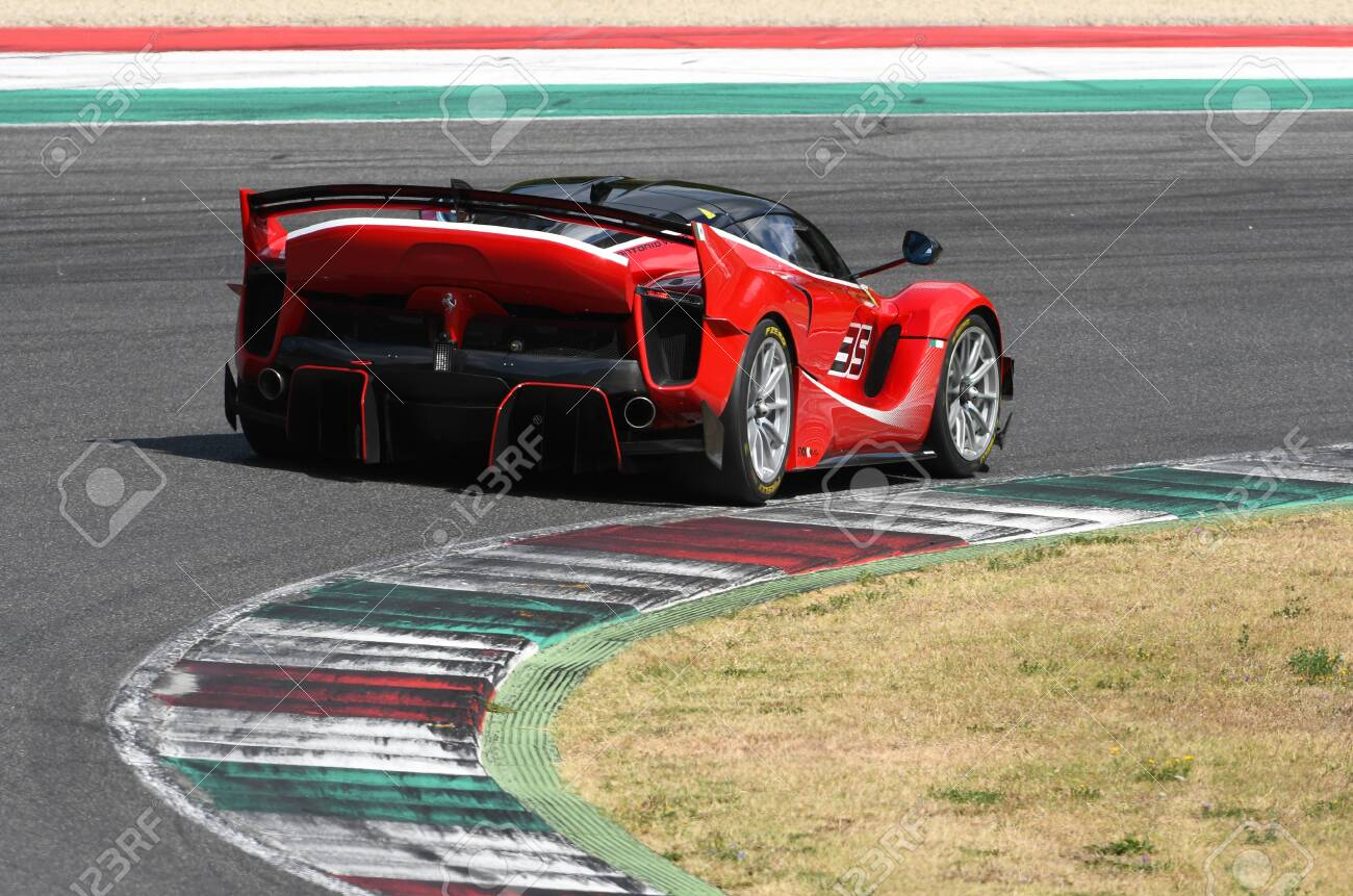 Scarperia Mugello 28 August 2020 Ferrari Fxx K Evo In Action Stock Photo Picture And Royalty Free Image Image 154329194