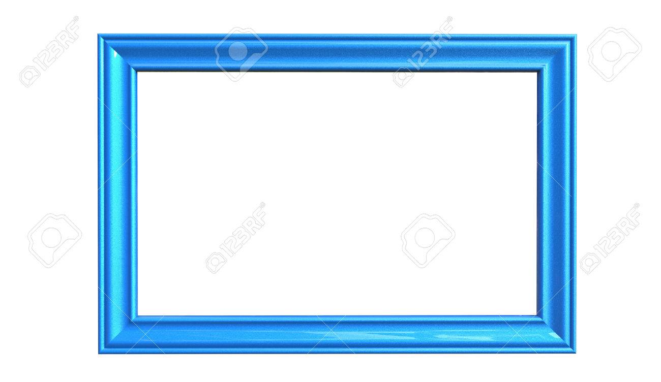 3d Rendering Of Cool Modern Isolated Hanging Blue Color Photo ...