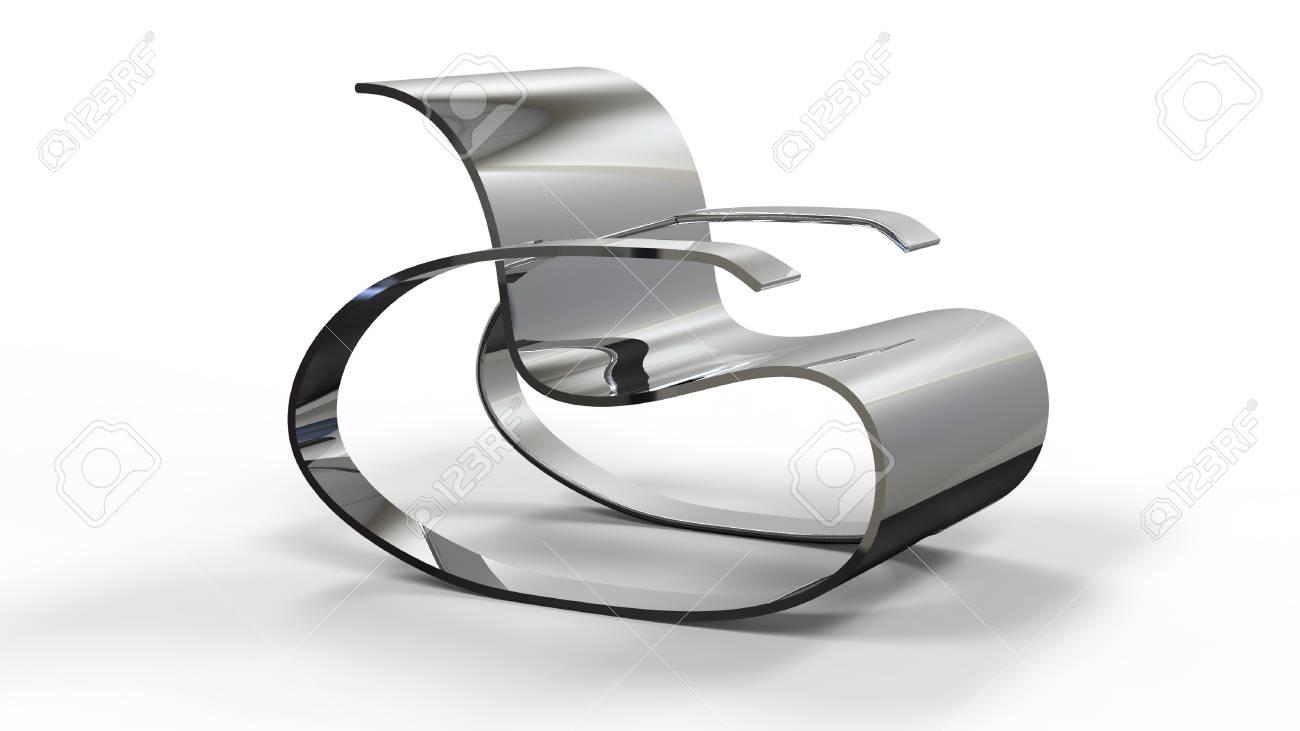 3d render of a Modern Rocking Chair - 78014506