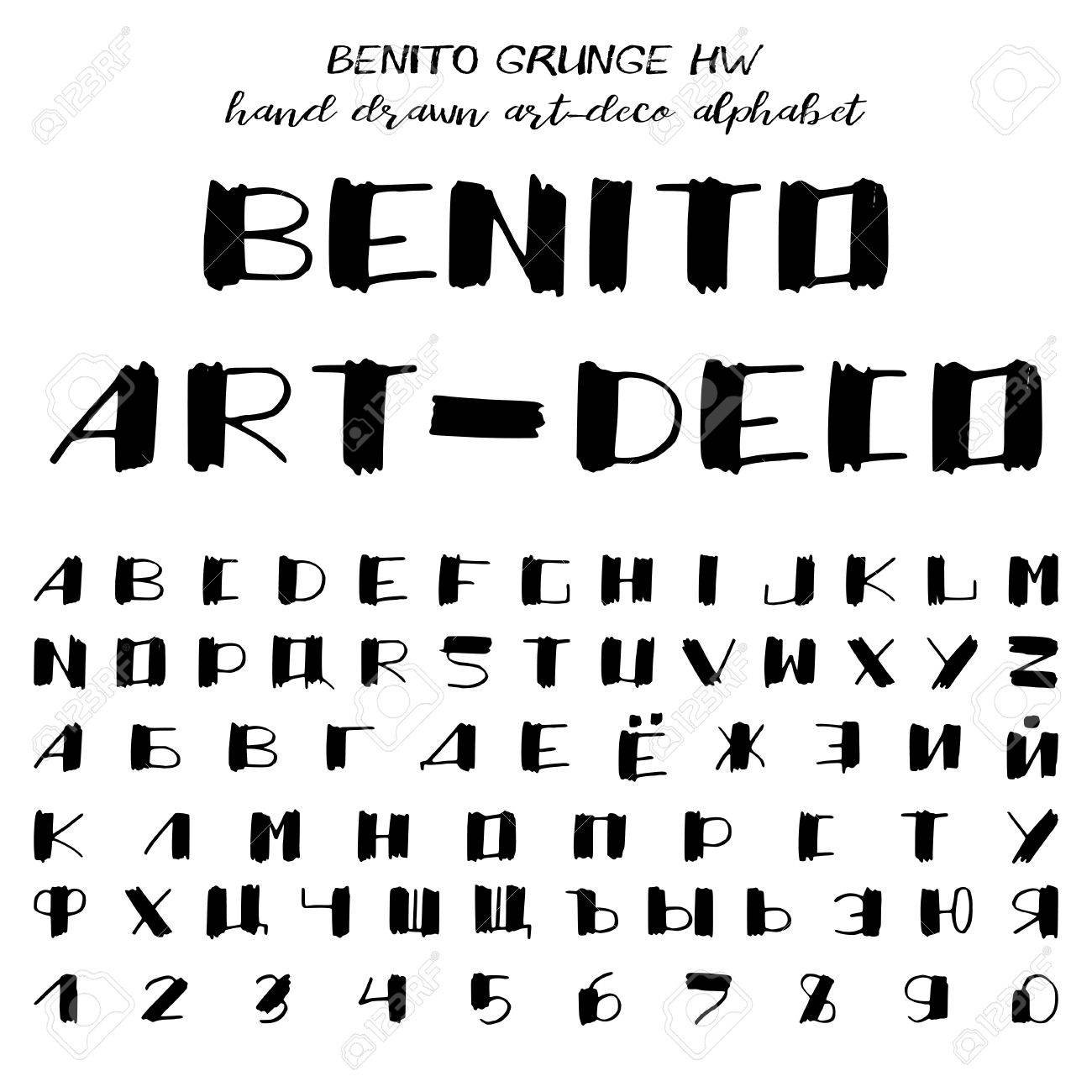 letters font style