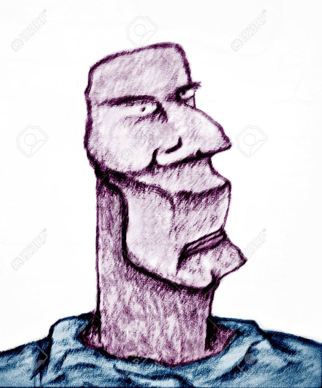 Dibujo A Lápiz Trama De La Ilustración Ilustraciones Que Representan