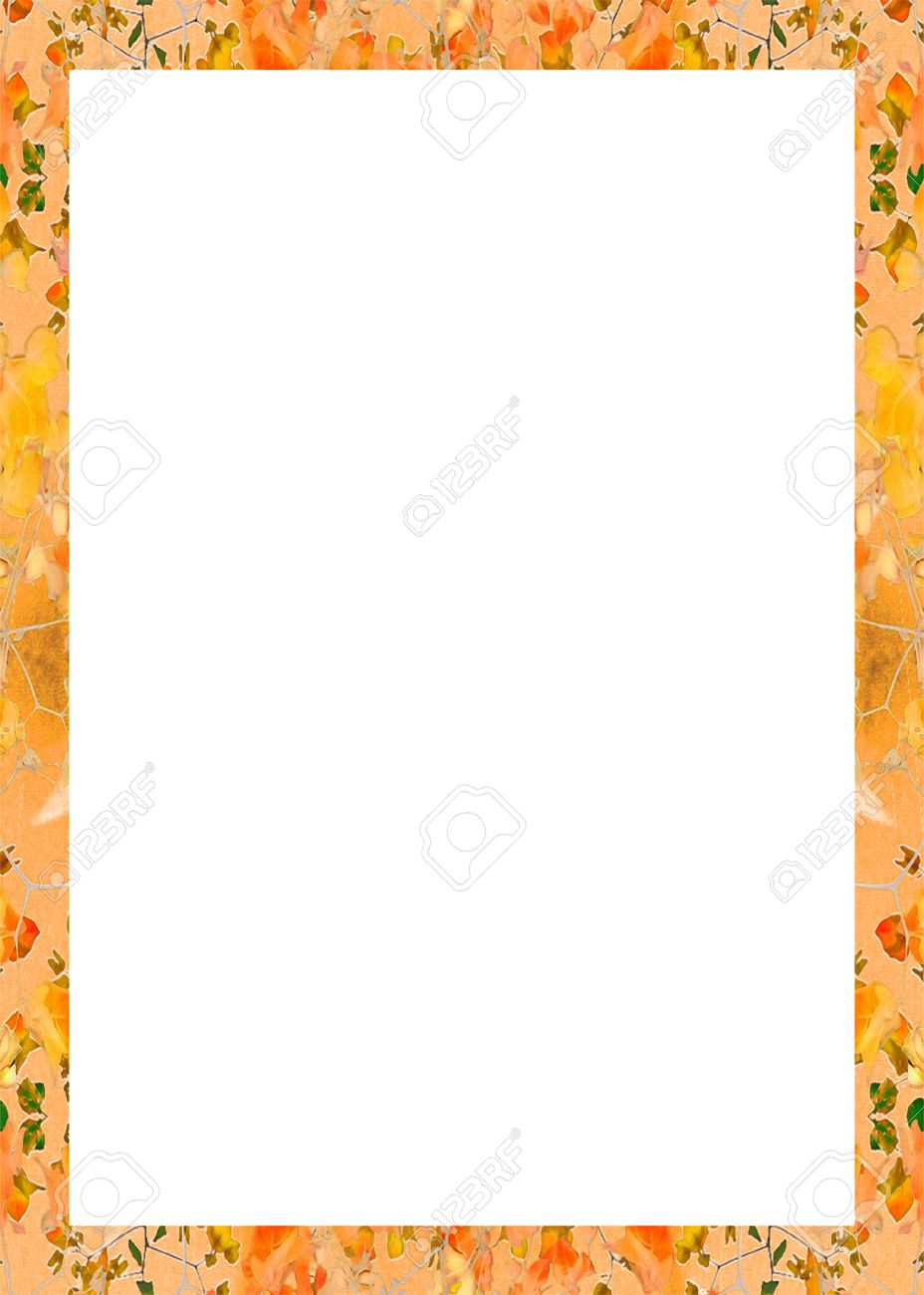 Ornament Portrait Format Frame Background With Elegant Decorative