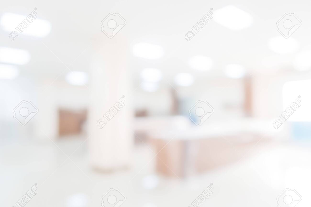 Abstract blurred hospital or clinic background - 133237714