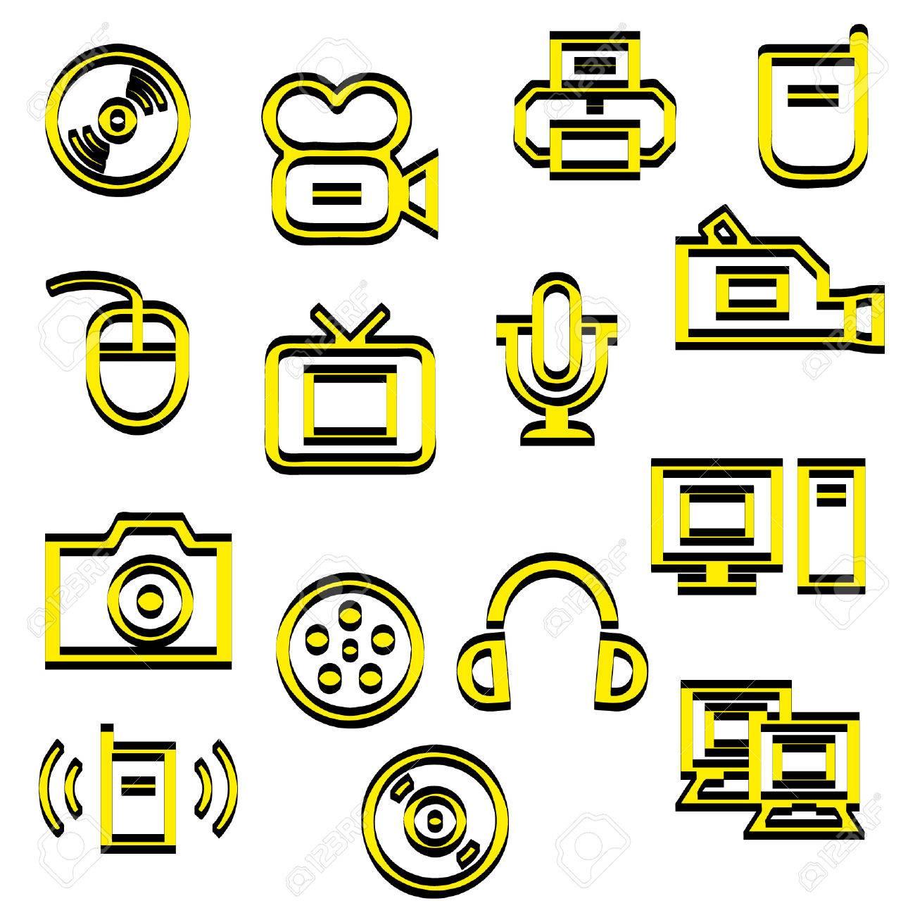 Media icons - 37545334
