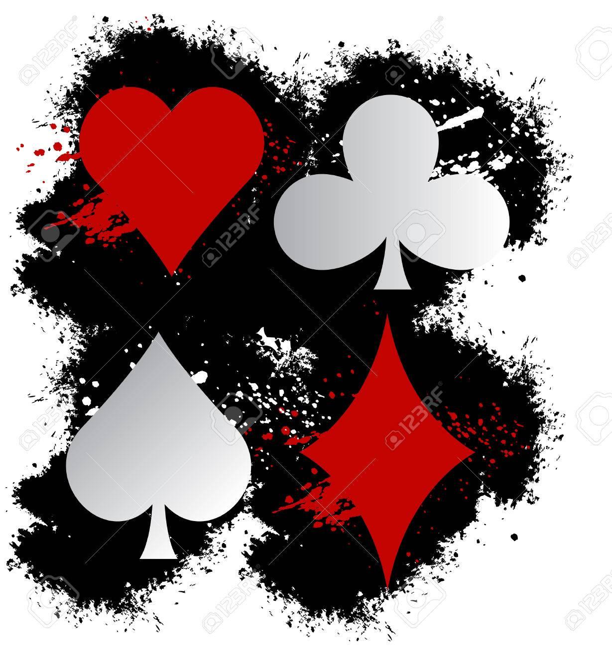 Poker icons Stock Vector - 25591032