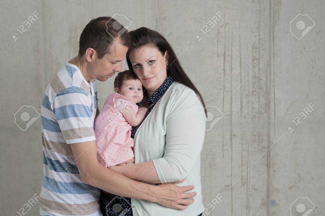 Baby shooting newborn family together stock photo 63542010