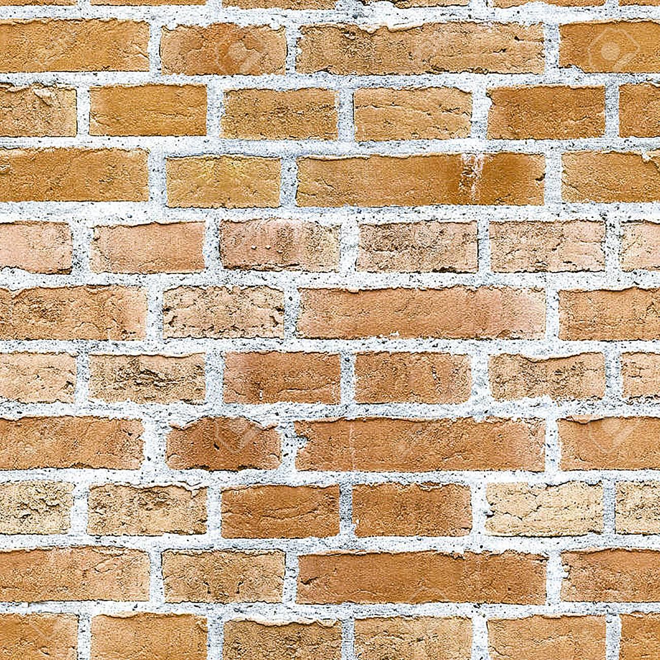 背景壁紙レンガ素材オレンジ色 の写真素材 画像素材 Image