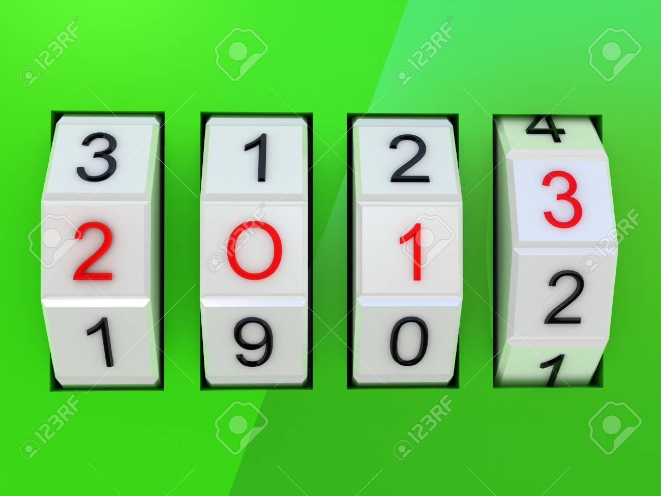 New Year Celebration 2013 Stock Photo - 17234453