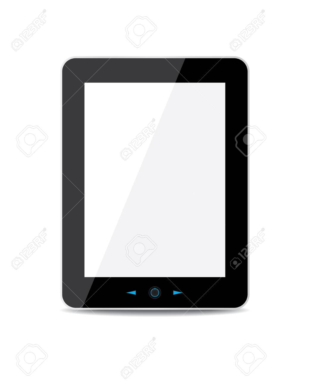 tablet computer Stock Vector - 18419441