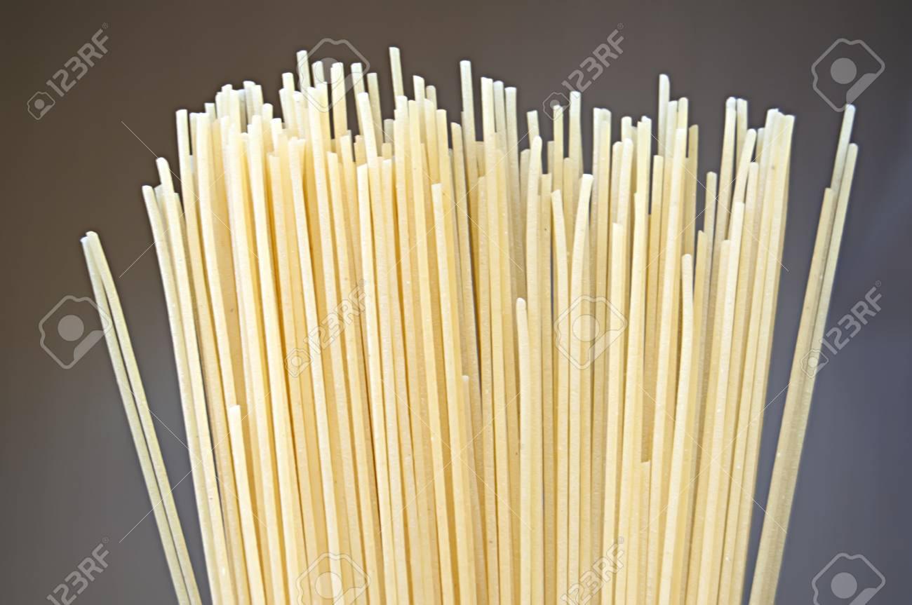 Uncooked pasta spaghetti macaroni Stock Photo - 16317069