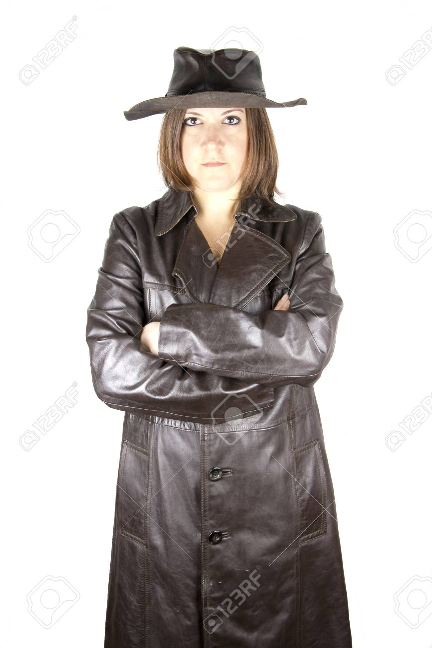 a woman in the waterproof Stock Photo - 18160567