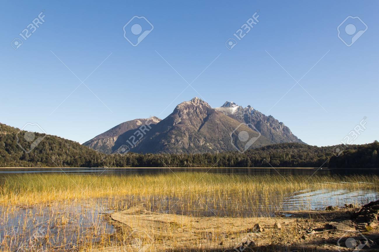 Circuito Chico : Beautiful lake in the circuito chico in bariloche argentina