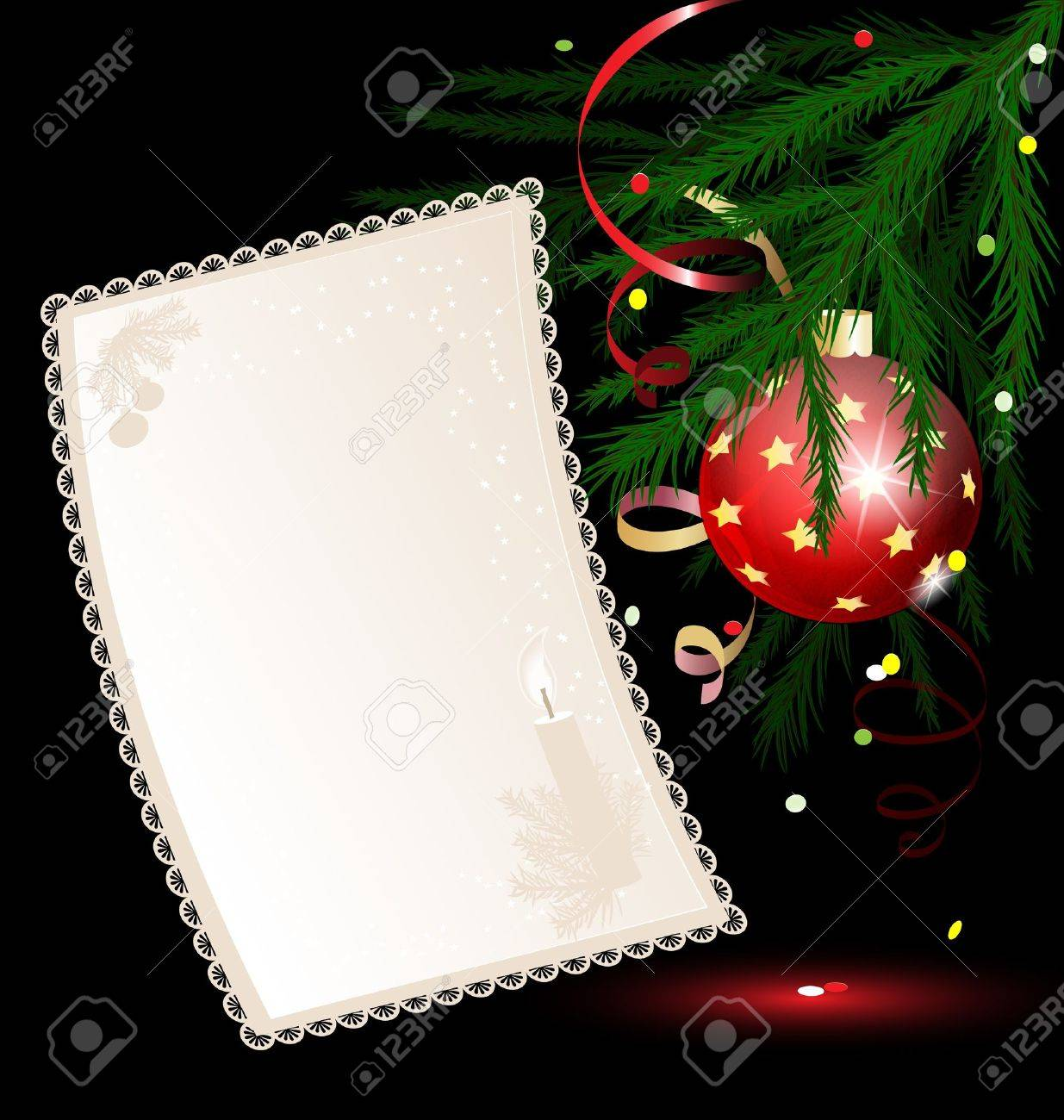 Christmas paper Stock Vector - 10890208