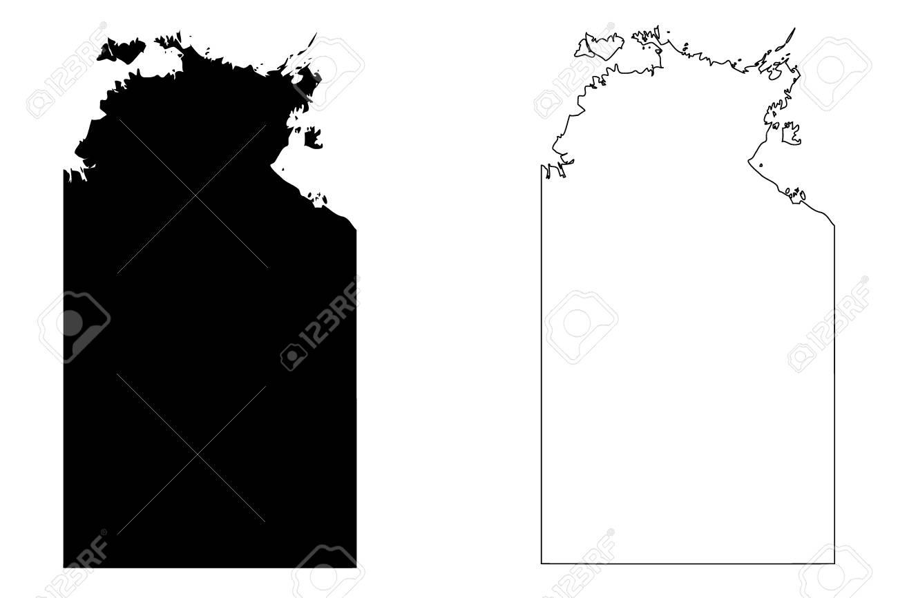 Australia Map Nt.Northern Territory Australian States And Territories Nt Map