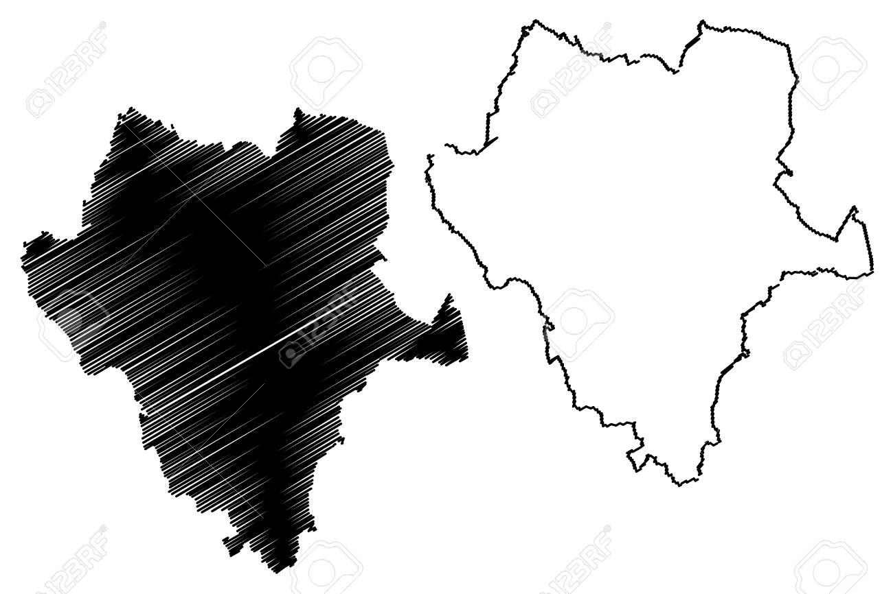 Durango (United Mexican States, Mexico, Federal Republic) Map ...