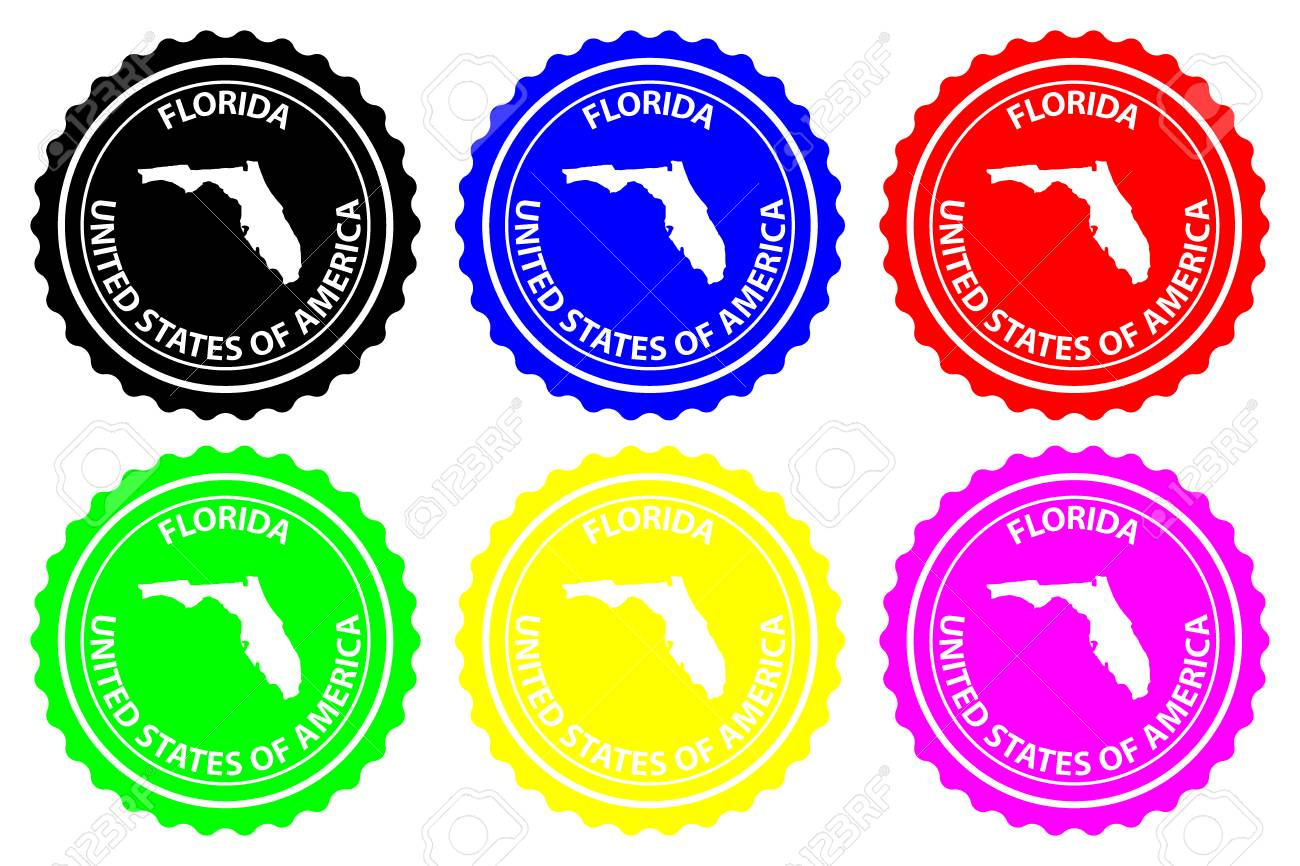 Florida - Rubber Stamp - Vector, Florida (United States Of America ...