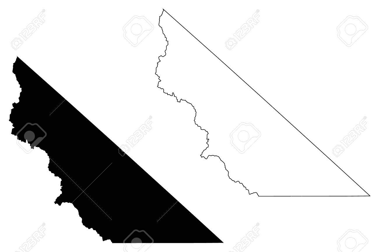 Counties In California Map.Mono County California Counties In California United States