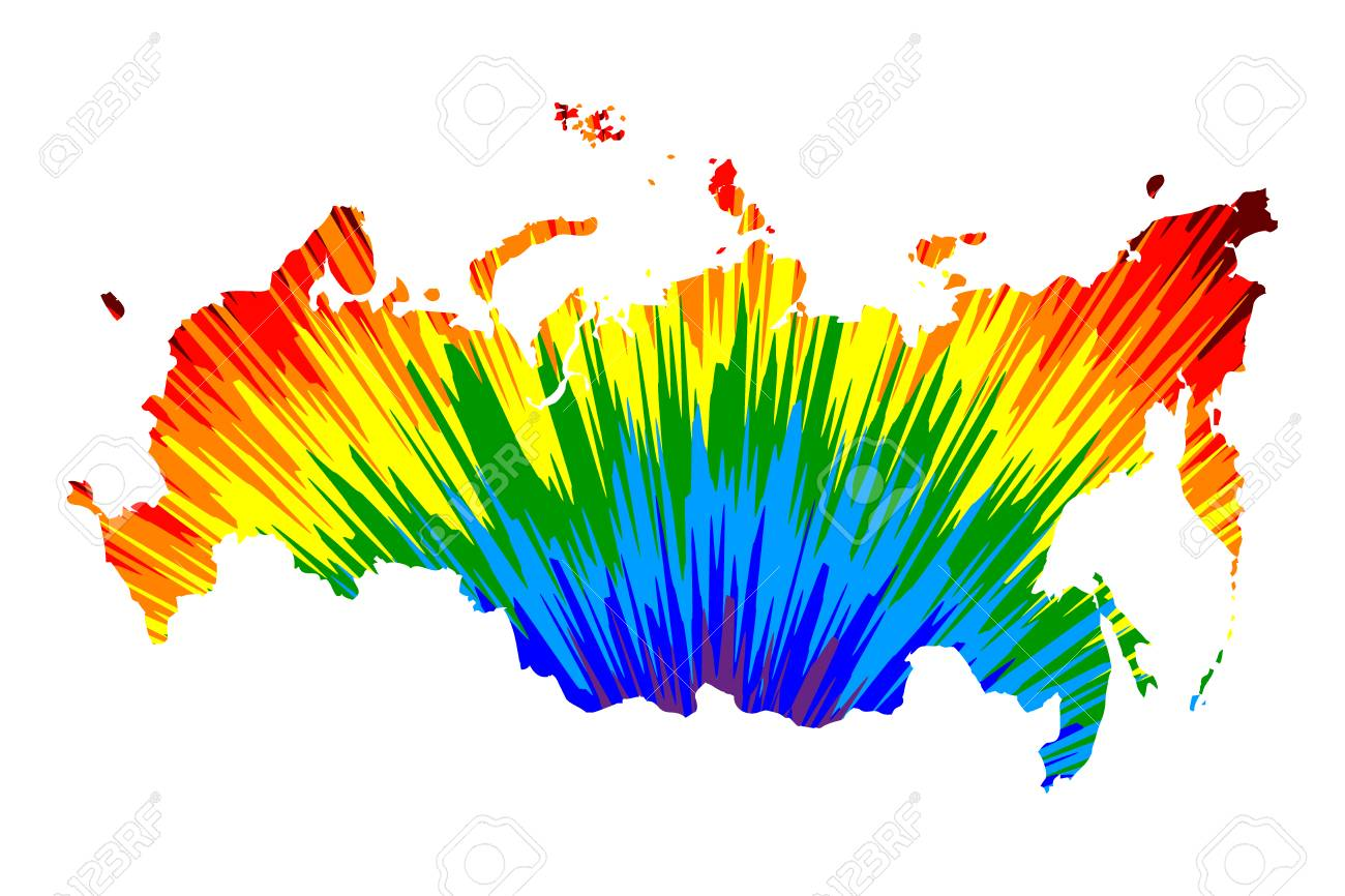 Russia - map is designed rainbow abstract colorful pattern, .. on korea map, china map, poland map, australia map, united kingdom map, france map, iraq map, soviet union map, europe map, africa map, italy map, asia map, saudi arabia map, romania map, india map, baltic map, canada map, japan map, eurasia map, germany map,