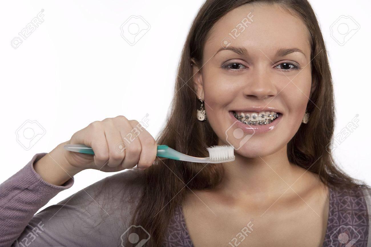 Почистили зубы и отсосала 9 фотография