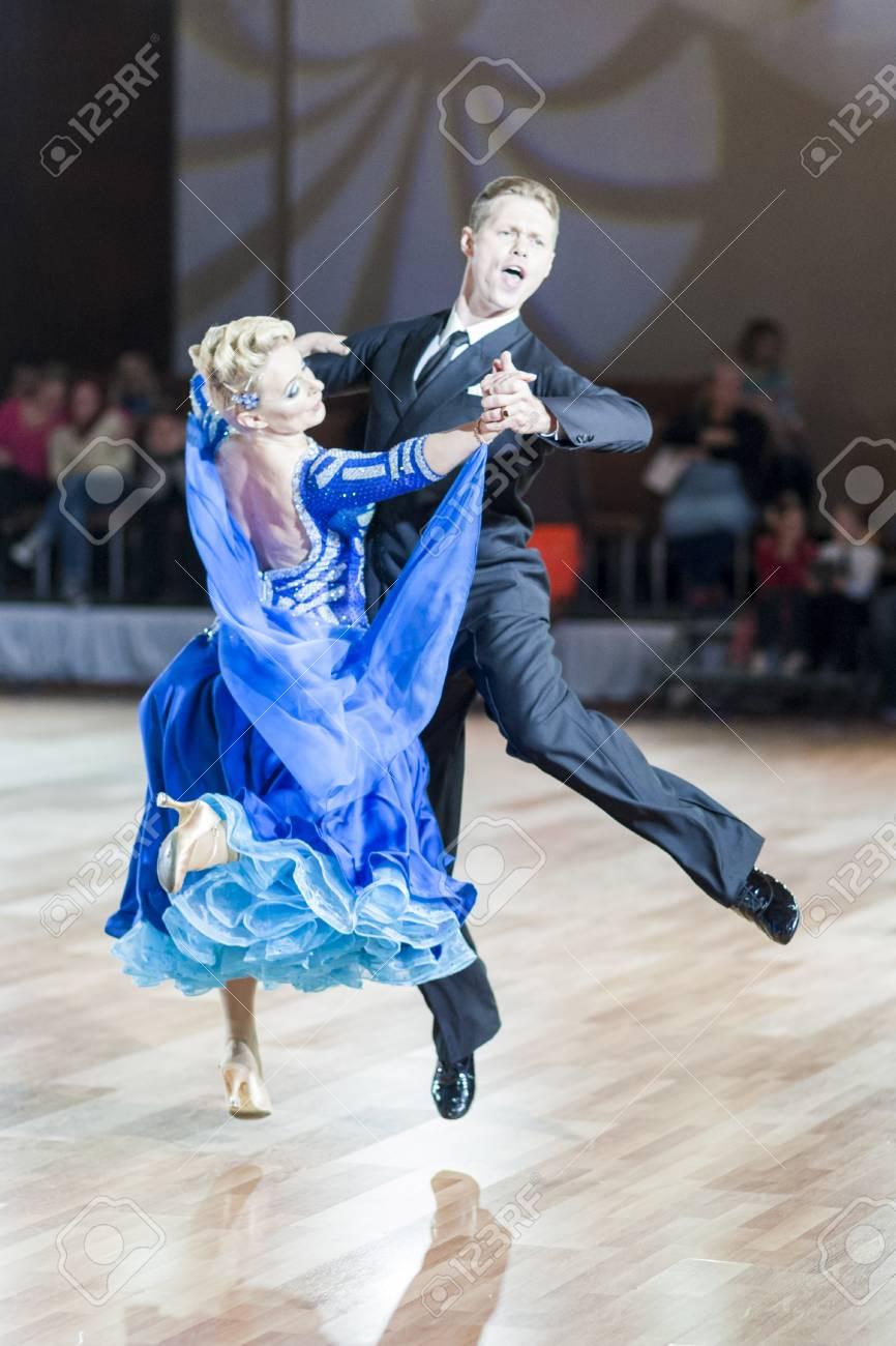 Minsk, Belarus – September 27, 2015: Professional Russian Couple ...