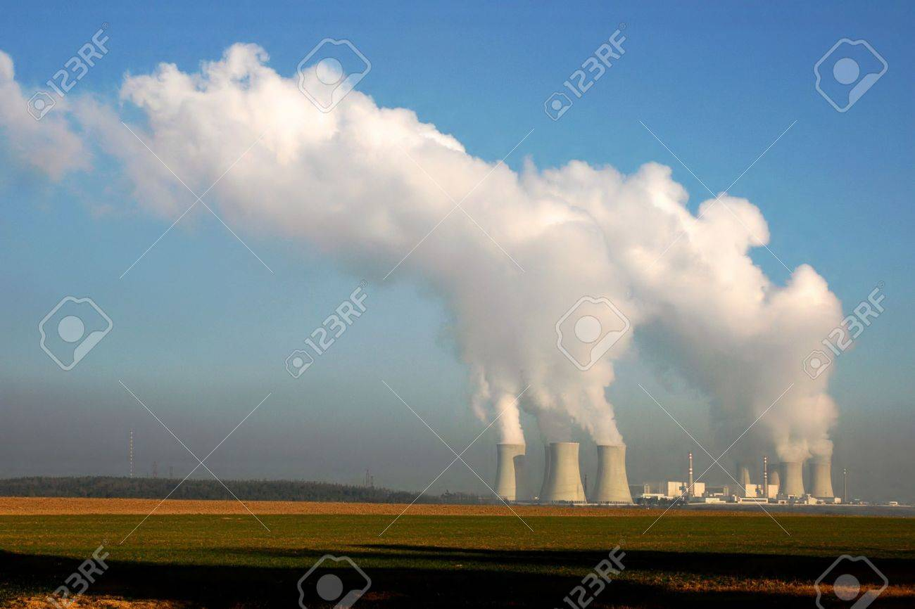 Nuclear power plant in Dukovany (Czech Republic) Stock Photo - 4184248