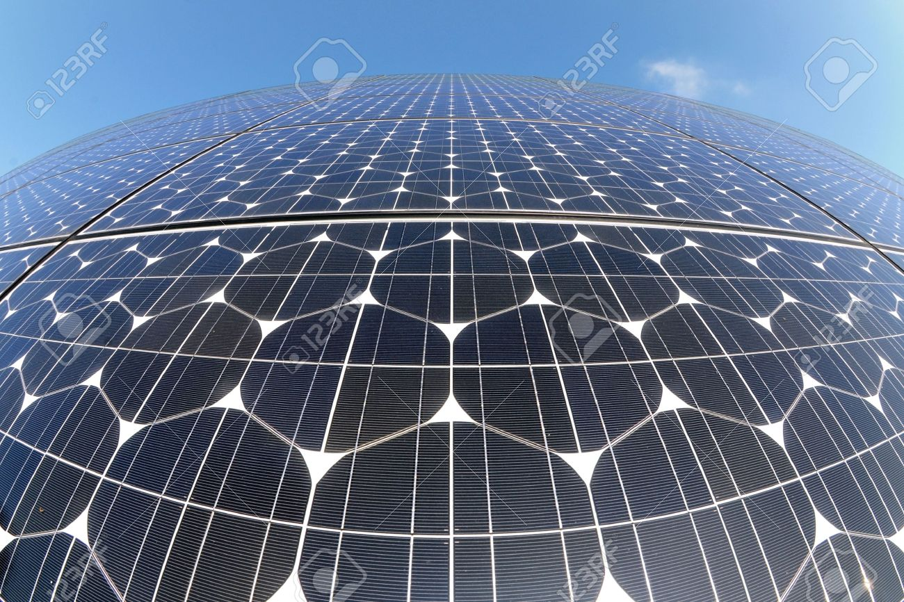 Photovoltaic cells in a solar panel Stock Photo - 5573274