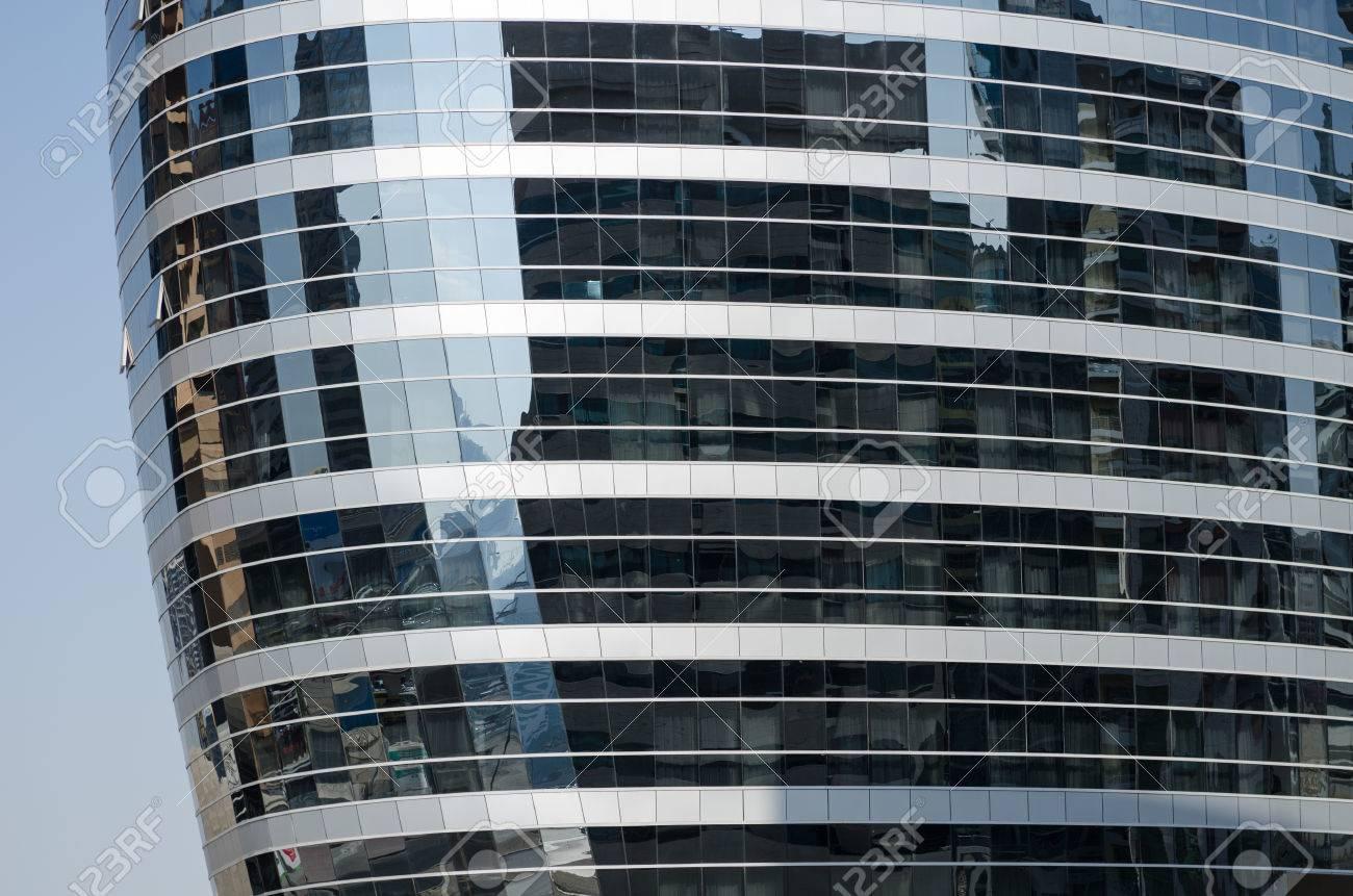 foto de archivo dubai edificios de cristal tecom oriente medio