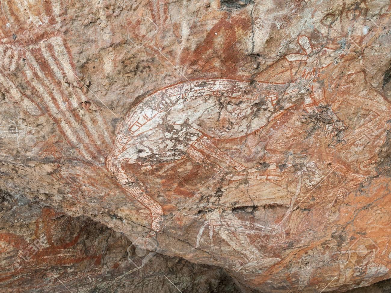 Kakadu Western Australia 06102013 Aboriginal Rock Art In