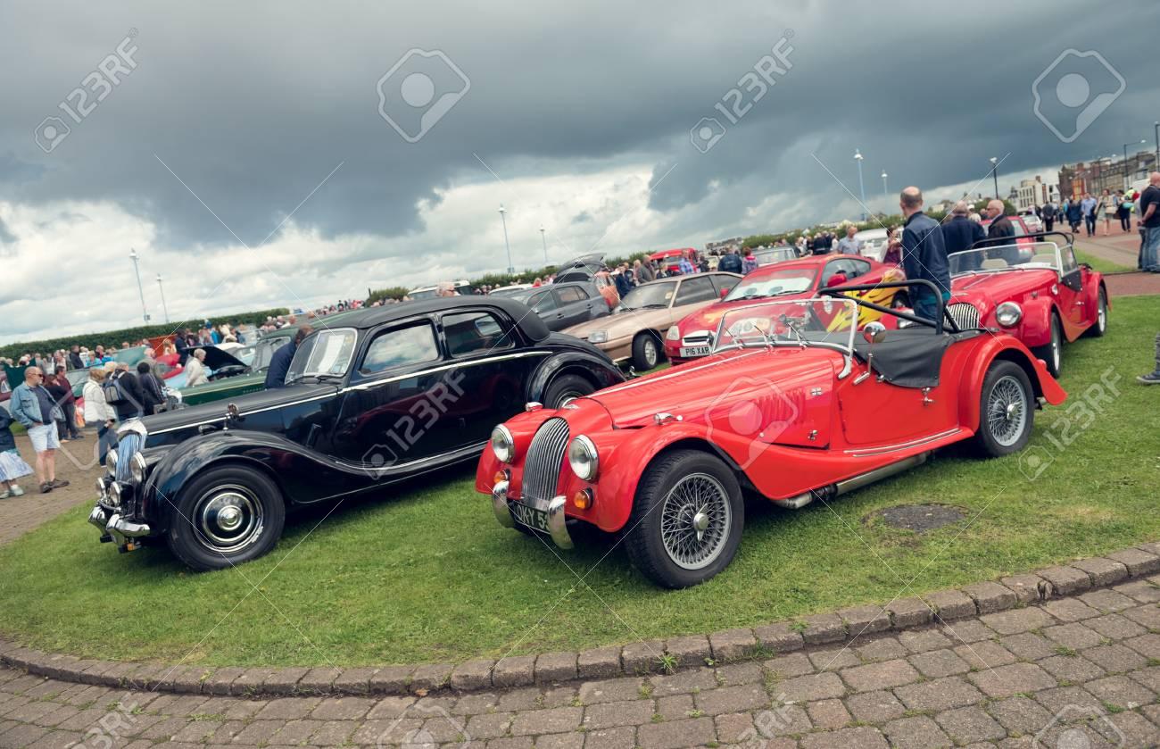 England, Morecambe, 08/16/2016, Austin Marten Car At The Vintage ...