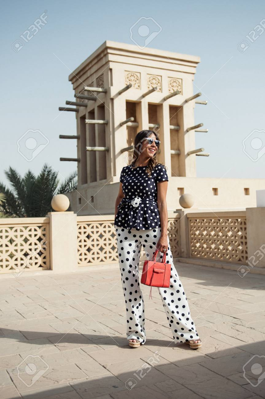 dubai, united arab emirates, 02/02/2017, A fashionable arabic