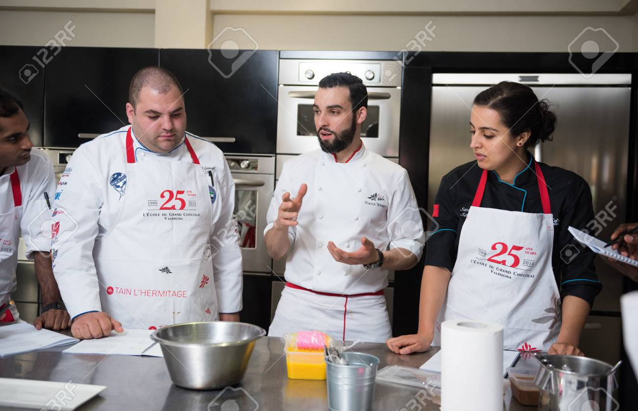 Dubai United Arab Emirates 02022016 Top Chef Cooking And