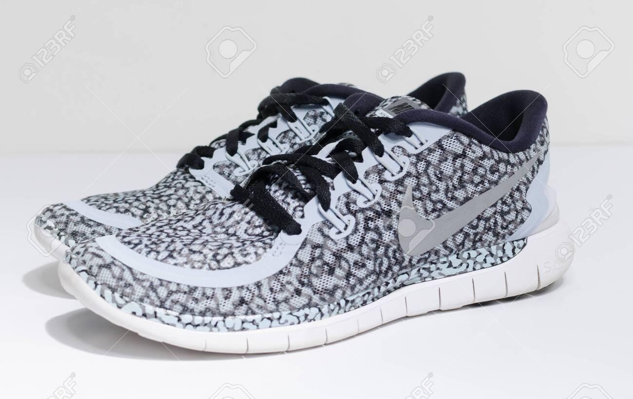 London, England, 05/05/2019 Nike Free 5