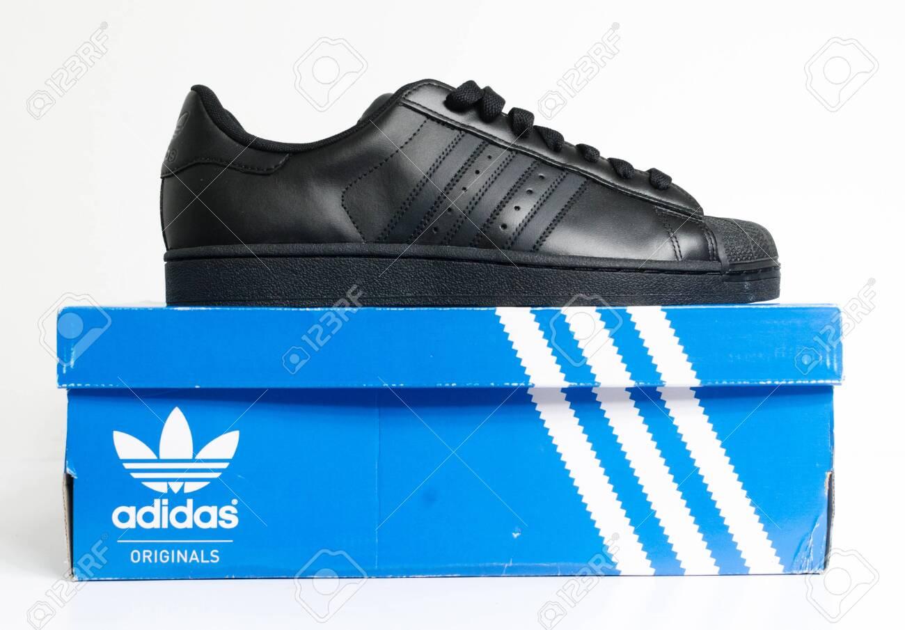 adidas all black retro trainers