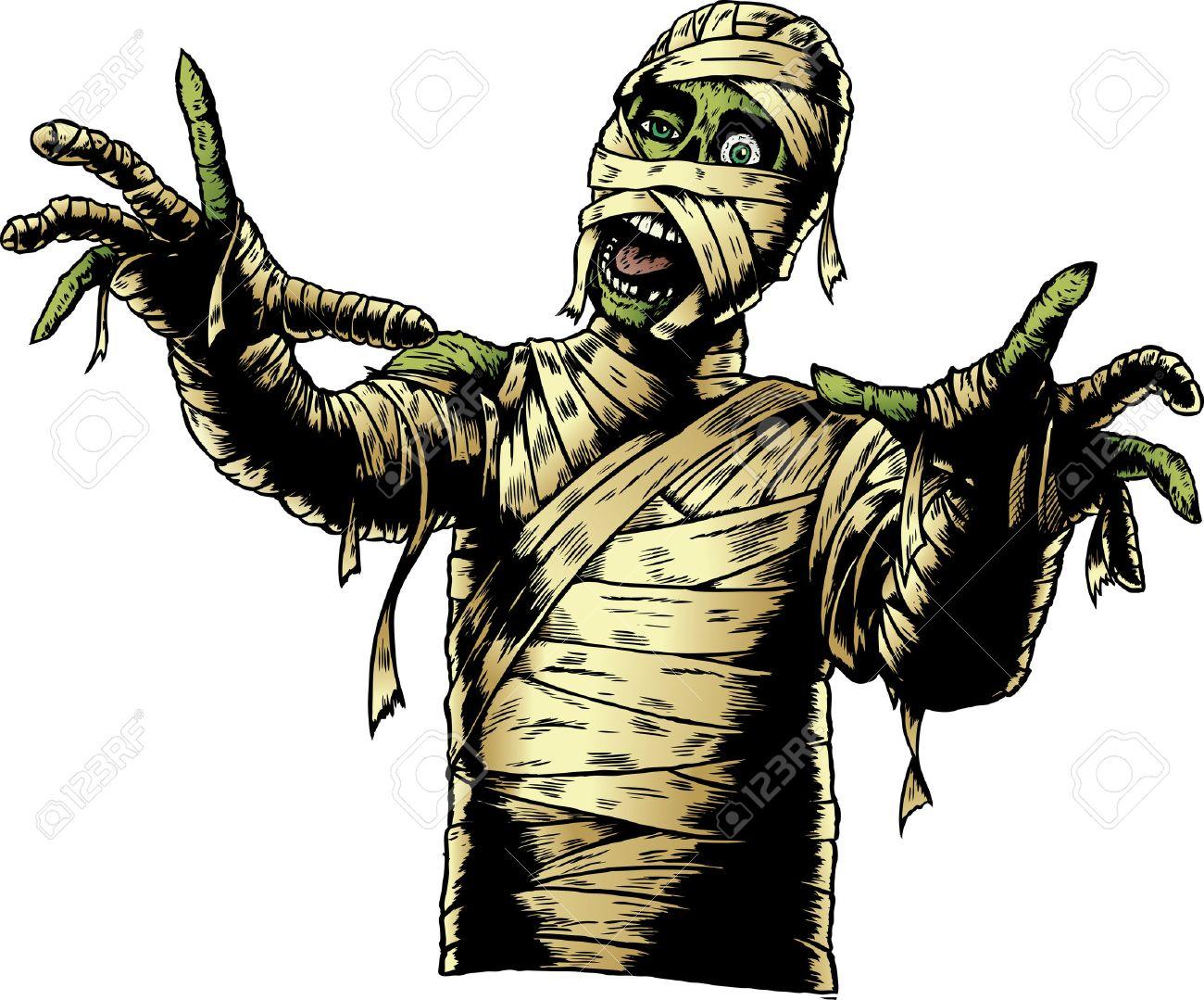 Zombie Comic Book Mummy