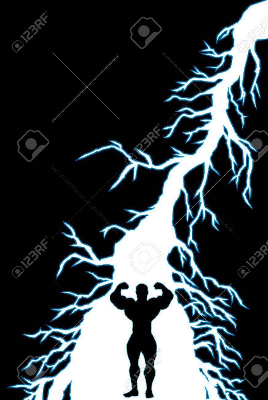 empowering lightning bolt Stock Vector - 6780607