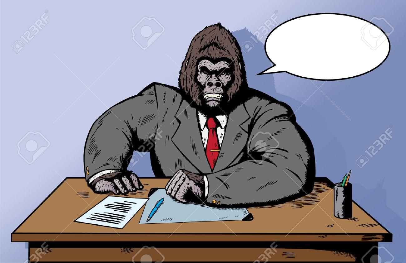 Resultado de imagen para gorila con corbata