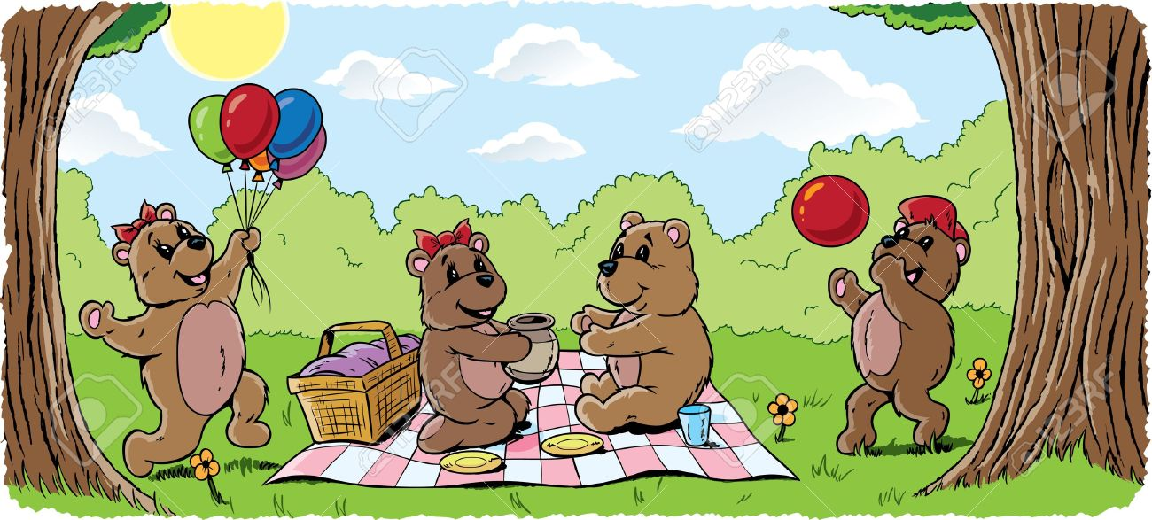 Teddy Bear Picnic Royalty Free Cliparts Vectors And Stock