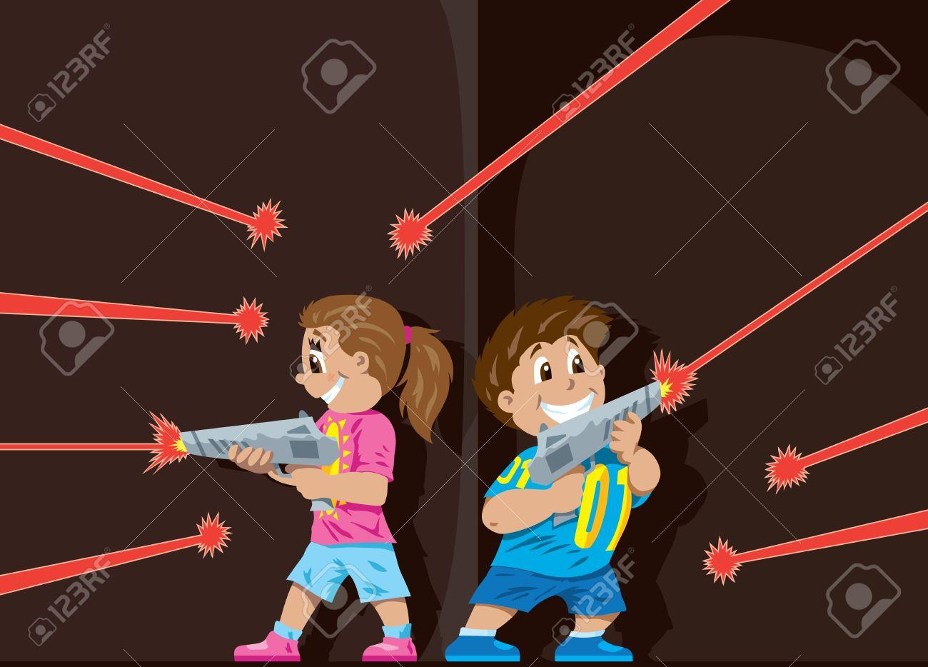 Laser Tag kids - 17287275