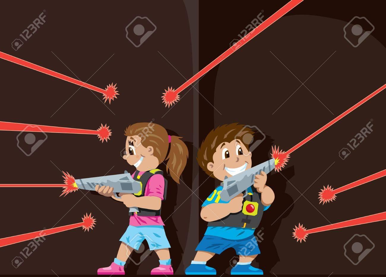 Laser Tag kids - 17589377